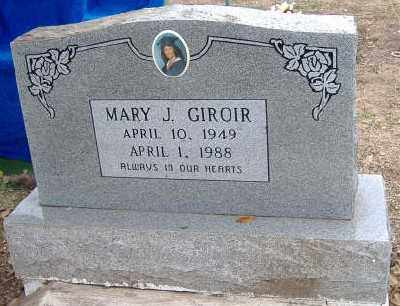 GIROIR, MARY J. - Ashley County, Arkansas | MARY J. GIROIR - Arkansas Gravestone Photos