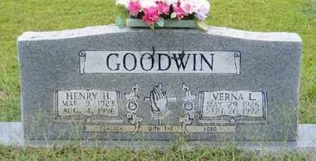 GOODWIN, VERNA L - Ashley County, Arkansas | VERNA L GOODWIN - Arkansas Gravestone Photos