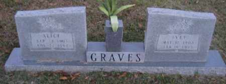 GRAVES, IVEY - Ashley County, Arkansas | IVEY GRAVES - Arkansas Gravestone Photos