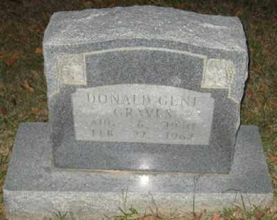 GRAVES, DONALD GENE - Ashley County, Arkansas | DONALD GENE GRAVES - Arkansas Gravestone Photos