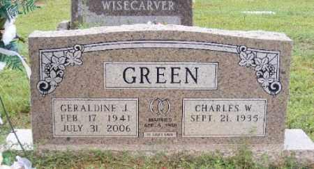 GREEN, GERALDINE J. - Ashley County, Arkansas | GERALDINE J. GREEN - Arkansas Gravestone Photos