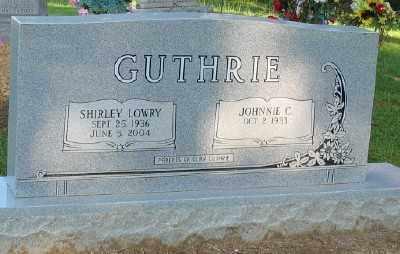 LOWRY GUTHRIE, SHIRLEY - Ashley County, Arkansas   SHIRLEY LOWRY GUTHRIE - Arkansas Gravestone Photos