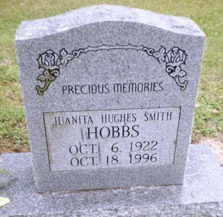 HUGHES HOBBS, JUANITA - Ashley County, Arkansas | JUANITA HUGHES HOBBS - Arkansas Gravestone Photos