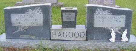 "HAGOOD, ODIS ""SUG"" - Ashley County, Arkansas | ODIS ""SUG"" HAGOOD - Arkansas Gravestone Photos"