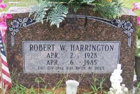 HARRIINGTON, ROBERT W. - Ashley County, Arkansas | ROBERT W. HARRIINGTON - Arkansas Gravestone Photos