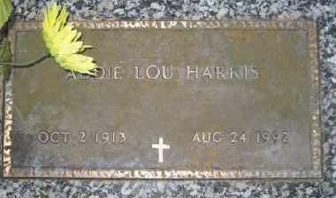 AUSTIN HARRIS, ADDIE LOU - Ashley County, Arkansas | ADDIE LOU AUSTIN HARRIS - Arkansas Gravestone Photos
