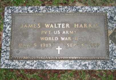 HARRIS (VETERAN WWII), JAMES WALTER - Ashley County, Arkansas | JAMES WALTER HARRIS (VETERAN WWII) - Arkansas Gravestone Photos