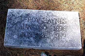 HAYNES, LEROY - Ashley County, Arkansas | LEROY HAYNES - Arkansas Gravestone Photos