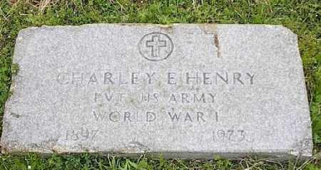 HENRY (VETERAN WWI), CHARLEY E - Ashley County, Arkansas | CHARLEY E HENRY (VETERAN WWI) - Arkansas Gravestone Photos
