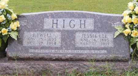 HIGH, JESSIE LEE - Ashley County, Arkansas | JESSIE LEE HIGH - Arkansas Gravestone Photos