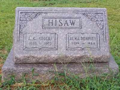 HISAW, J. C. - Ashley County, Arkansas | J. C. HISAW - Arkansas Gravestone Photos