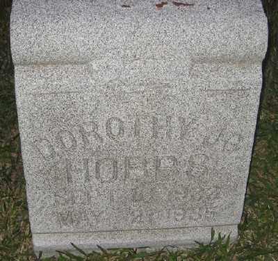 HOBBS, DOROTHY JO - Ashley County, Arkansas   DOROTHY JO HOBBS - Arkansas Gravestone Photos
