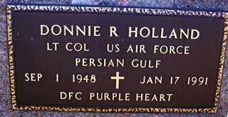 HOLLAND (VETERAN PGW), DONNIE R - Ashley County, Arkansas | DONNIE R HOLLAND (VETERAN PGW) - Arkansas Gravestone Photos