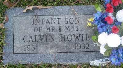 HOWIE, INFANT SON - Ashley County, Arkansas   INFANT SON HOWIE - Arkansas Gravestone Photos