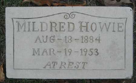 HOWIE, MILDRED - Ashley County, Arkansas | MILDRED HOWIE - Arkansas Gravestone Photos
