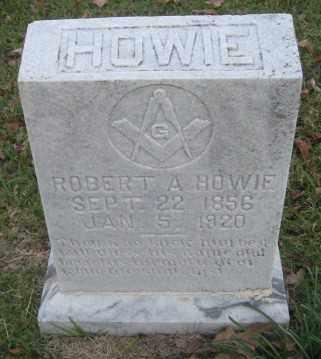 HOWIE, ROBERT A. - Ashley County, Arkansas | ROBERT A. HOWIE - Arkansas Gravestone Photos