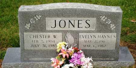 JONES, CHESTER W - Ashley County, Arkansas | CHESTER W JONES - Arkansas Gravestone Photos