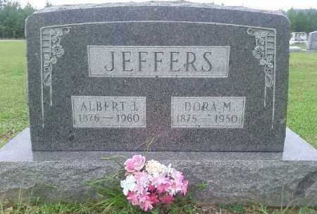 JEFFERS, ALBERT J. - Ashley County, Arkansas   ALBERT J. JEFFERS - Arkansas Gravestone Photos