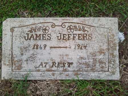 JEFFERS, JAMES - Ashley County, Arkansas | JAMES JEFFERS - Arkansas Gravestone Photos