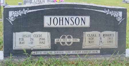 ROBERTS JOHNSON, CLARA B. - Ashley County, Arkansas | CLARA B. ROBERTS JOHNSON - Arkansas Gravestone Photos