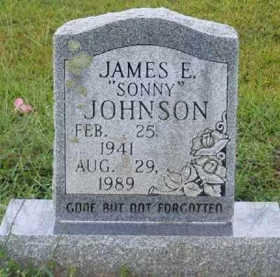 JOHNSON, JAMES E. - Ashley County, Arkansas | JAMES E. JOHNSON - Arkansas Gravestone Photos