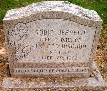 KNIGHT, ROBIN JEANETTE - Ashley County, Arkansas   ROBIN JEANETTE KNIGHT - Arkansas Gravestone Photos