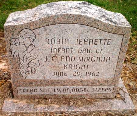 KNIGHT, ROBIN JEANETTE - Ashley County, Arkansas | ROBIN JEANETTE KNIGHT - Arkansas Gravestone Photos