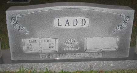 LADD, EARL CLIFTON - Ashley County, Arkansas   EARL CLIFTON LADD - Arkansas Gravestone Photos