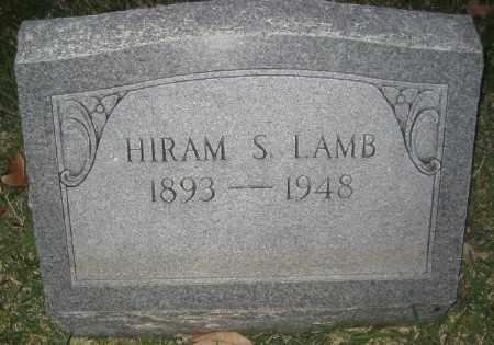 LAMB, HIRAM S. - Ashley County, Arkansas | HIRAM S. LAMB - Arkansas Gravestone Photos