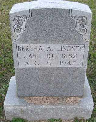 LINDSEY, BERTHA A. - Ashley County, Arkansas   BERTHA A. LINDSEY - Arkansas Gravestone Photos