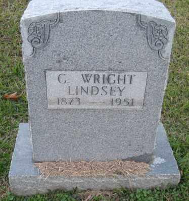 LINDSEY, C. WRIGHT - Ashley County, Arkansas | C. WRIGHT LINDSEY - Arkansas Gravestone Photos