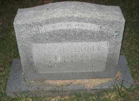 GOBER LUDLAM, BESSIE - Ashley County, Arkansas | BESSIE GOBER LUDLAM - Arkansas Gravestone Photos