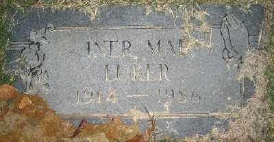 LUKER, INER MAE - Ashley County, Arkansas | INER MAE LUKER - Arkansas Gravestone Photos