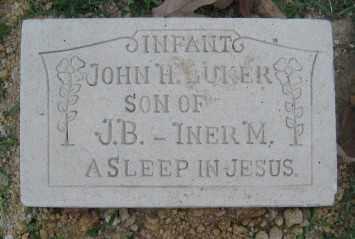 LUKER, JOHN H. - Ashley County, Arkansas | JOHN H. LUKER - Arkansas Gravestone Photos