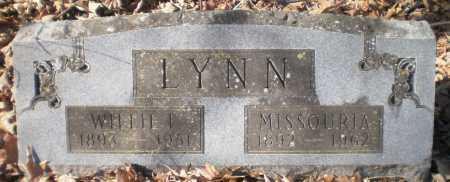 LYNN, WILLIE F - Ashley County, Arkansas | WILLIE F LYNN - Arkansas Gravestone Photos