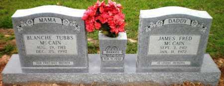 MCCAIN, JAMES FRED - Ashley County, Arkansas | JAMES FRED MCCAIN - Arkansas Gravestone Photos