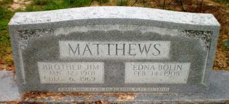 MATTHEWS, JIM - Ashley County, Arkansas | JIM MATTHEWS - Arkansas Gravestone Photos