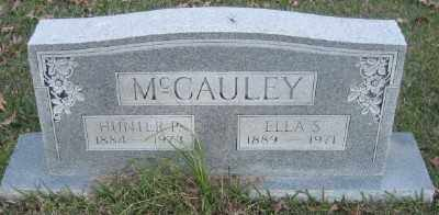 MCCAULEY, HUNTER P. - Ashley County, Arkansas | HUNTER P. MCCAULEY - Arkansas Gravestone Photos
