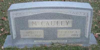 MCCAULEY, OTIS H. - Ashley County, Arkansas | OTIS H. MCCAULEY - Arkansas Gravestone Photos