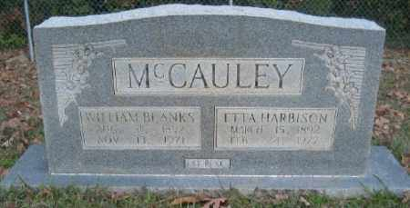 HARBISON MCCAULEY, ETTA - Ashley County, Arkansas | ETTA HARBISON MCCAULEY - Arkansas Gravestone Photos