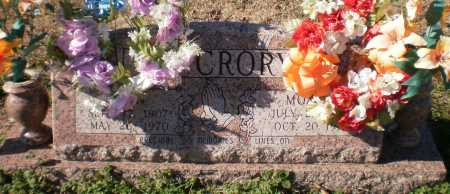 MCCRORY, ERVIN - Ashley County, Arkansas | ERVIN MCCRORY - Arkansas Gravestone Photos