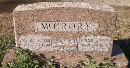 MCCRORY, HOMER WILSON - Ashley County, Arkansas | HOMER WILSON MCCRORY - Arkansas Gravestone Photos