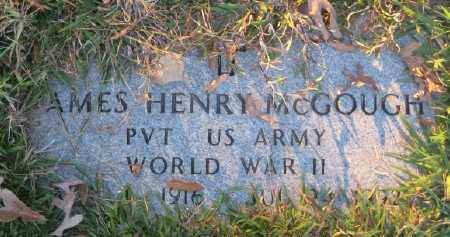 MCGOUGH (VETERAN WWII), JAMES HENRY - Ashley County, Arkansas   JAMES HENRY MCGOUGH (VETERAN WWII) - Arkansas Gravestone Photos