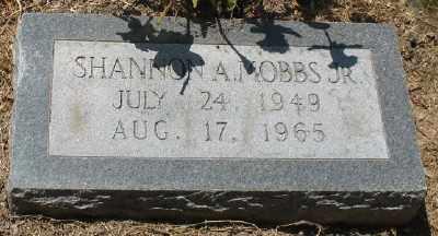 MOBBS, JR., SHANNON A. - Ashley County, Arkansas | SHANNON A. MOBBS, JR. - Arkansas Gravestone Photos