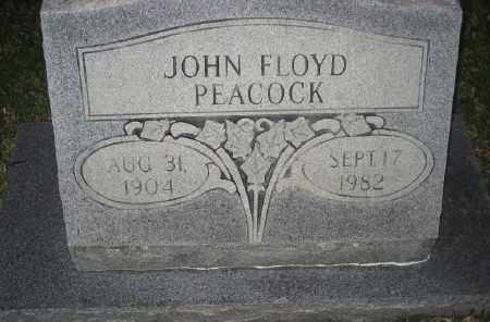 PEACOCK, JOHN FLOYD - Ashley County, Arkansas | JOHN FLOYD PEACOCK - Arkansas Gravestone Photos