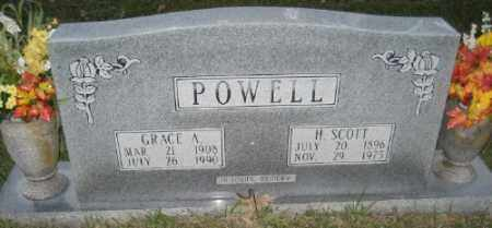 POWELL, H. SCOTT - Ashley County, Arkansas | H. SCOTT POWELL - Arkansas Gravestone Photos