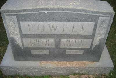 POWELL, JOHN N. - Ashley County, Arkansas | JOHN N. POWELL - Arkansas Gravestone Photos