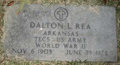 REA (VETERAN WWII), DALTON L - Ashley County, Arkansas | DALTON L REA (VETERAN WWII) - Arkansas Gravestone Photos