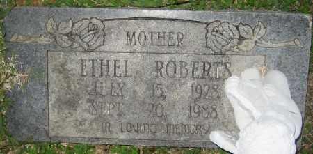 ROBERTS, ETHEL - Ashley County, Arkansas | ETHEL ROBERTS - Arkansas Gravestone Photos