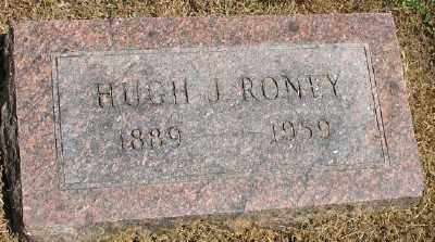 RONEY, HUGH J. - Ashley County, Arkansas | HUGH J. RONEY - Arkansas Gravestone Photos